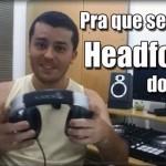 Headfone do Dj
