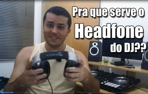 Headfone do Dj